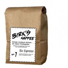 No. 7 - Barista Bio-Espresso , Indien - Bohnen + gemahlen